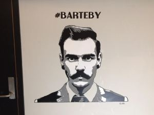 #Barteby on display at #mathalltrondheim, 3 layer stencil mural.