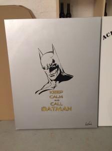 Batman. Now on exhibition at Ågot Lian, Trondheim