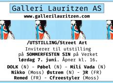 Galleri lauritzen SOMMERFESTEN SIN 7 juni 2014