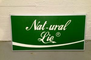 """Natural Lie"" 3-layer stencil on italian canvas. On exhibition at ambush gallery Sydney, Australia."
